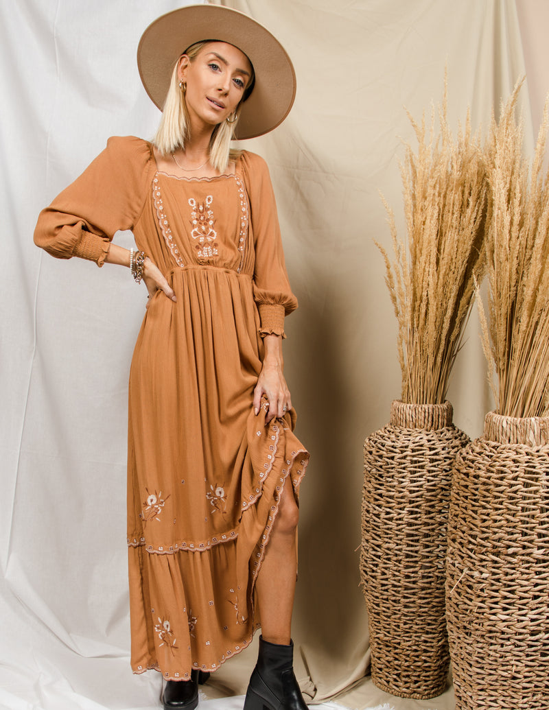 Jenny Embroidered Dress
