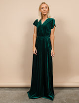 Kindra Velvet Maxi Dress
