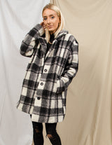 Dallas Plaid Coat