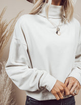 Quincy Cropped Turtleneck