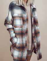 Connie Plaid Over Shirt