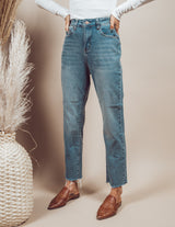 Talon Boyfriend Fit Denim