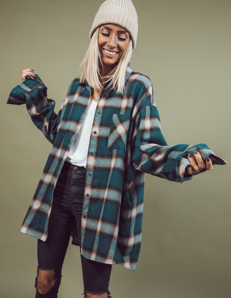 Lumberjack Oversized Button Up