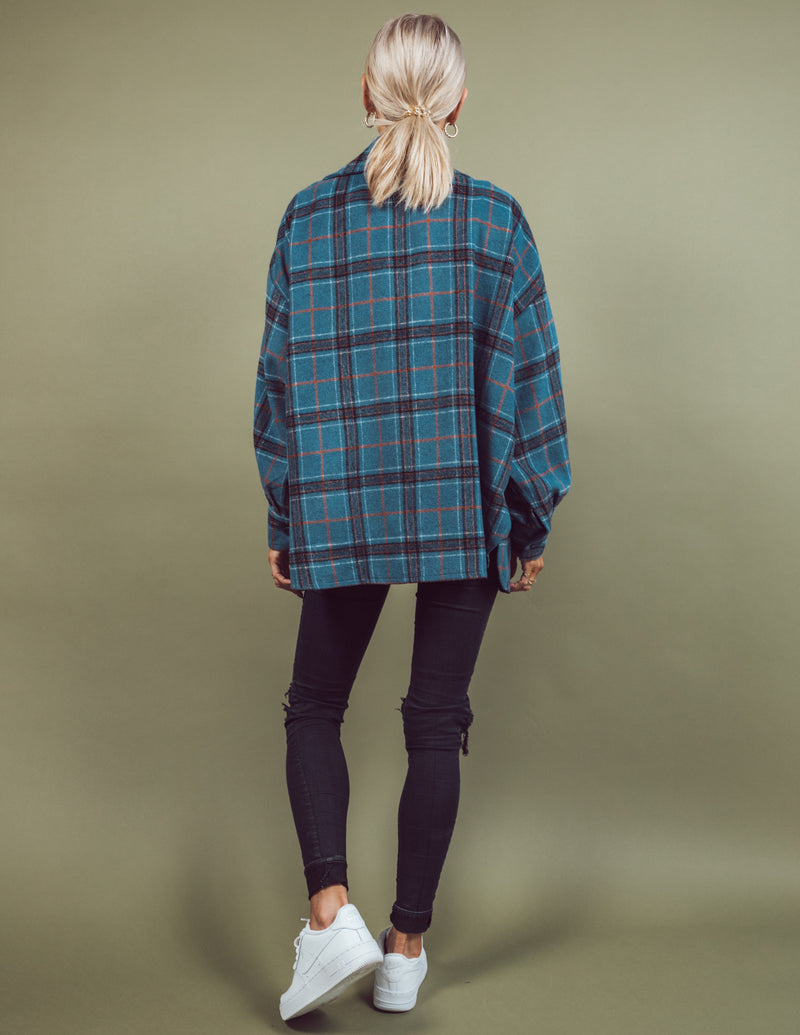 Alice Plaid Jacket