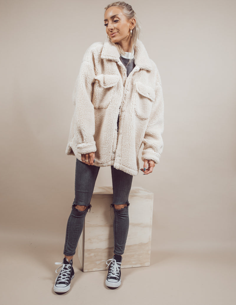 Krystal Faux Fur Jacket