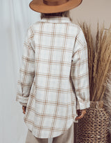 Rory Plaid Over Shirt