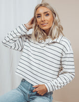 Providence Long Sleeve Stripe Top