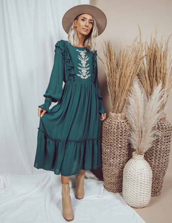Kenzy Embroidered Dress
