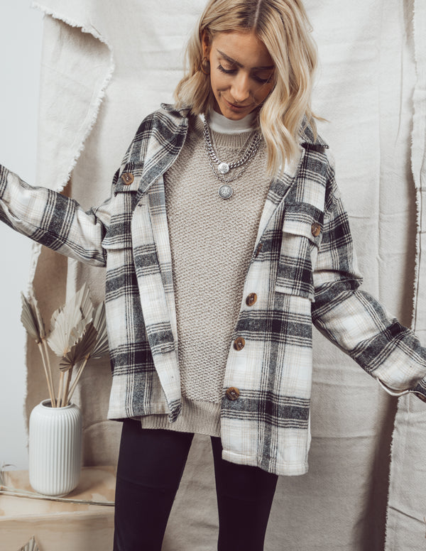 Cinthia Button-Up Flannel