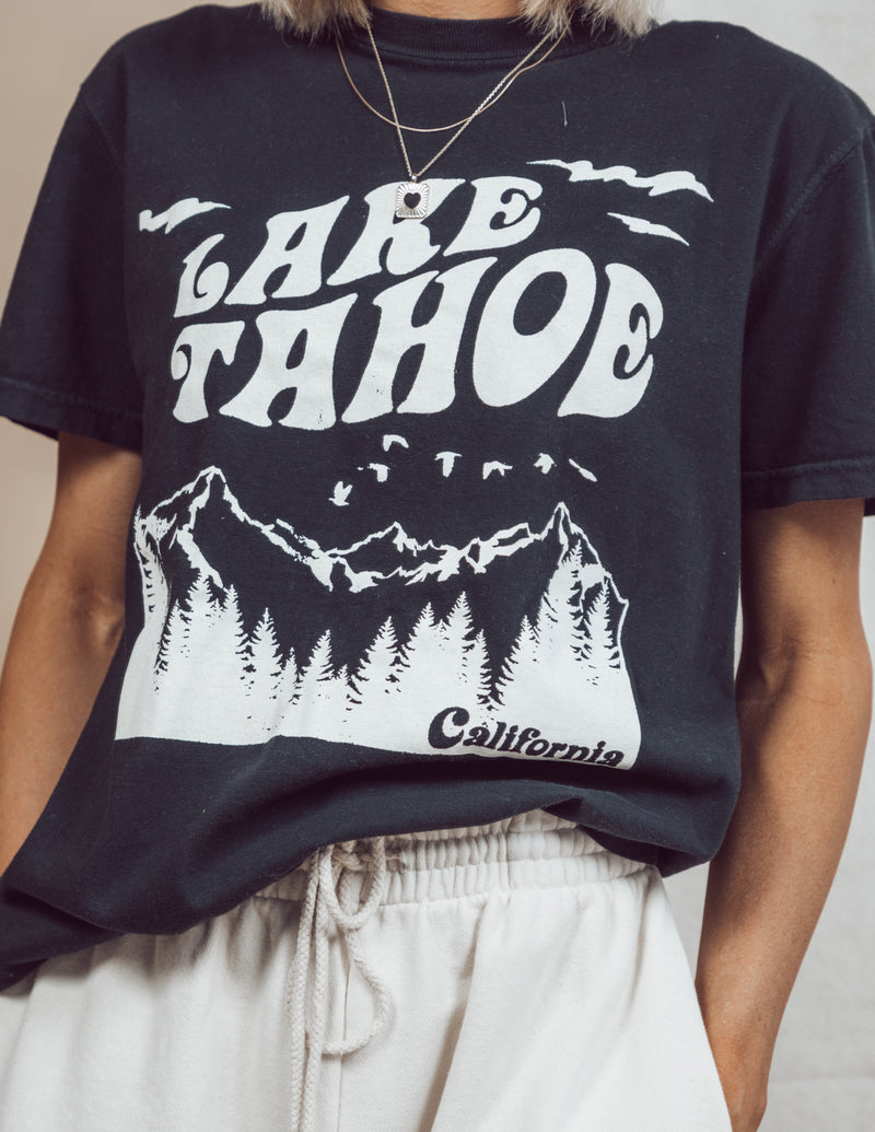 Lake Tahoe Graphic Tee