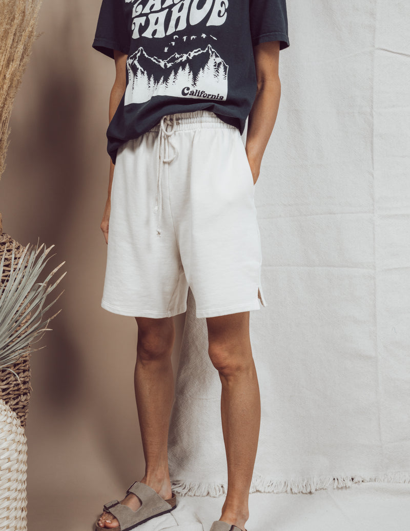 Battista French Terry Knit Shorts