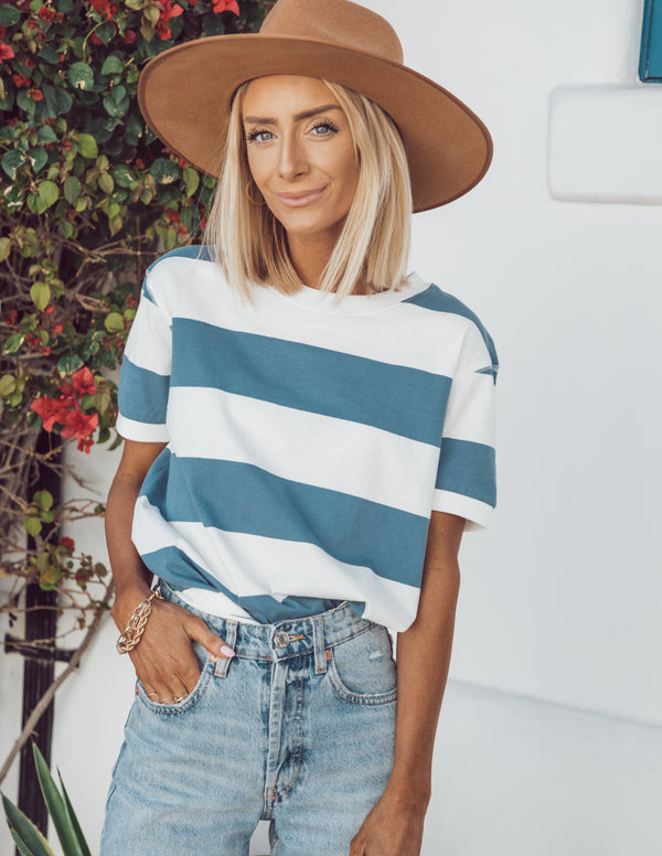 Nantucket Stripe Top