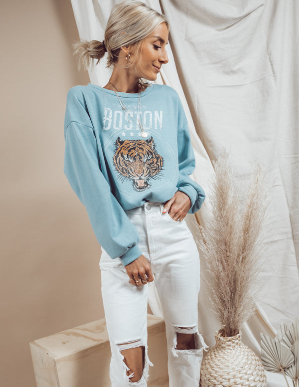 Boston Graphic Sweatshirt