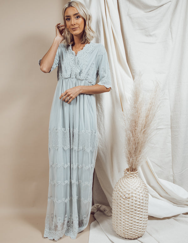 Anastasia Lace Maxi Dress