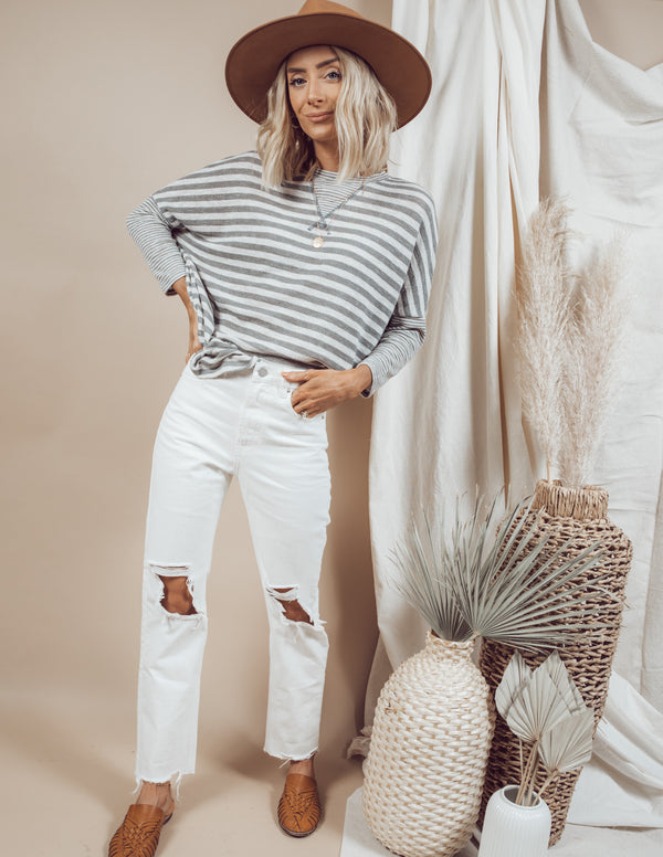 Kaelie Stripe Top