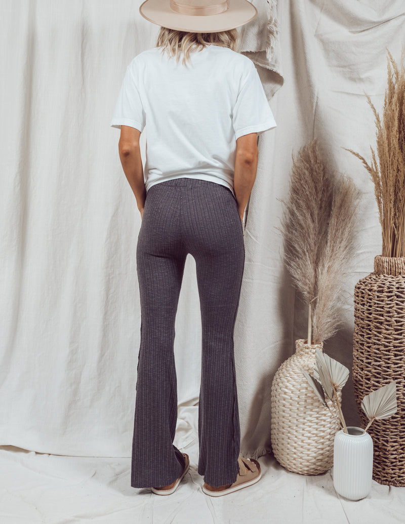 Bella Ribbed Pants