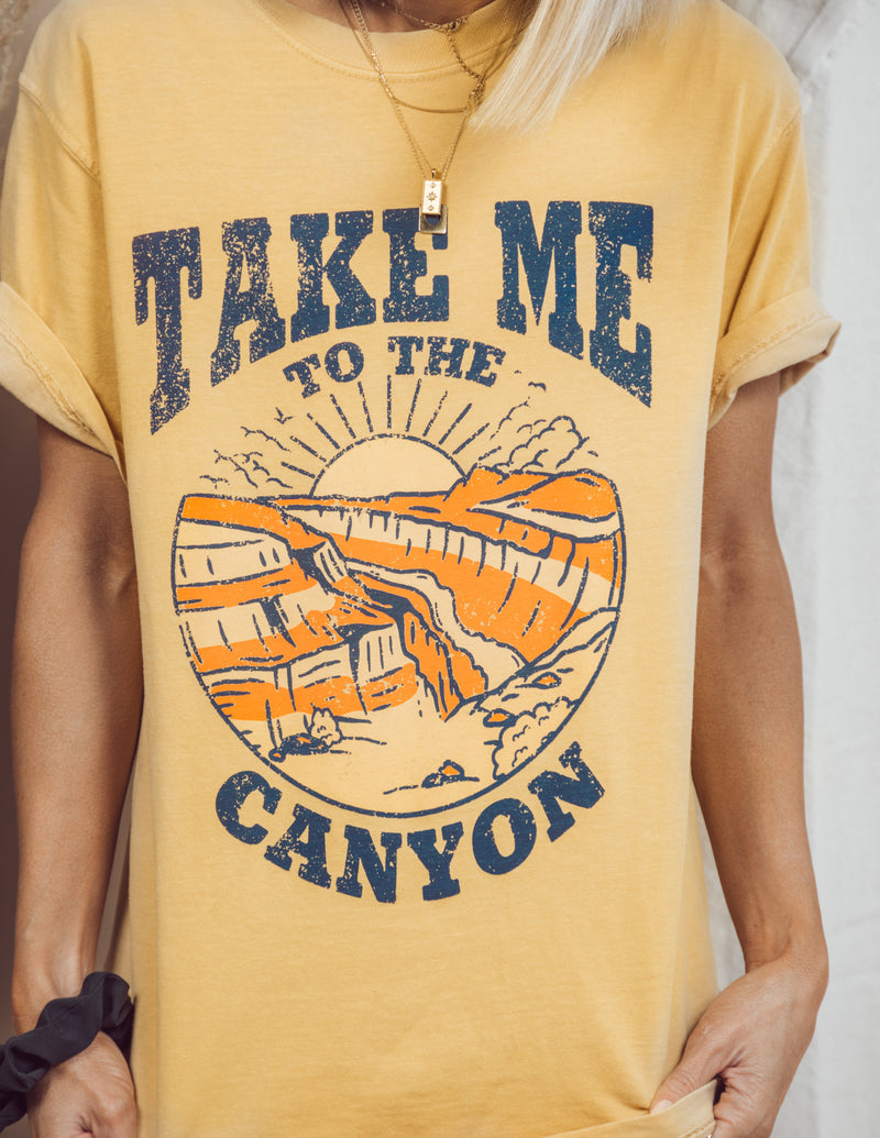 Take Me to the Canyon Graphic Tee