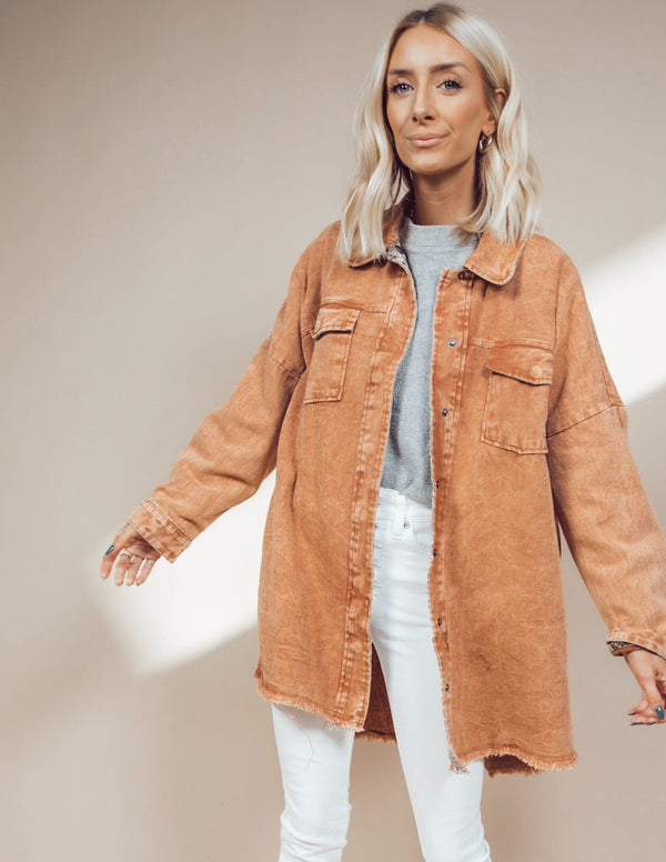 Astrid Oversize Denim Jacket
