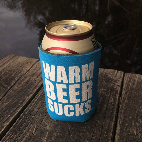 Warm Beer Sucks Koozie