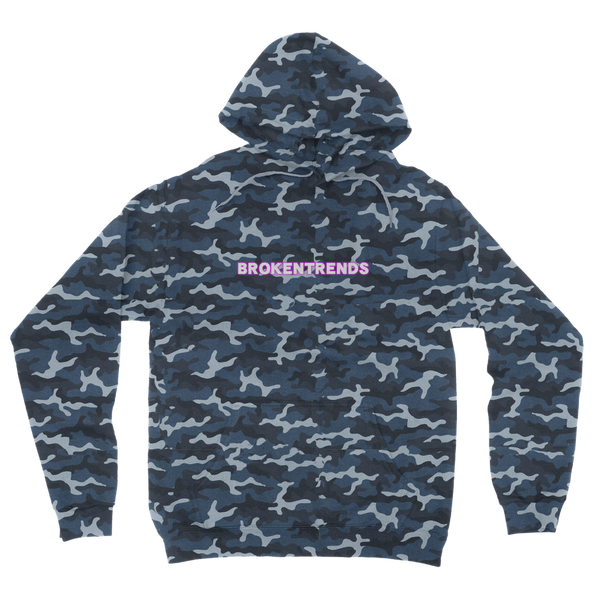 Brokentrends Benjamin Love Camouflage Adult Hoodie