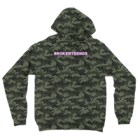 Brokentrends Bleeding Camouflage Adult Hoodie