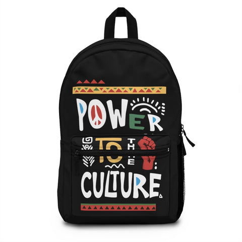 Power to the Culture Backpack (Made in USA)