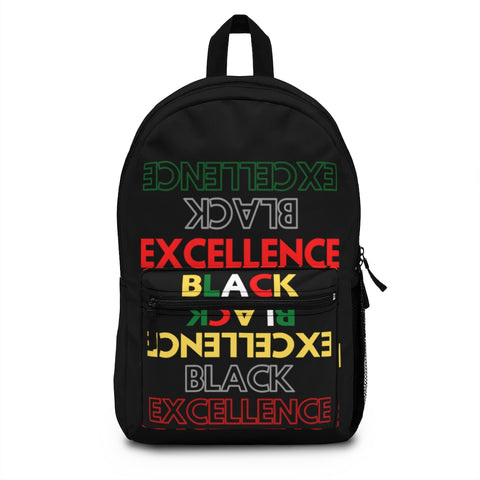 Black Excellence Backpack (Made in USA)