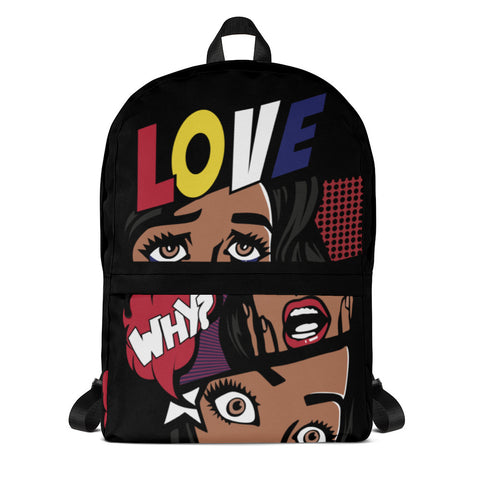 Comic Love & Peace Backpack