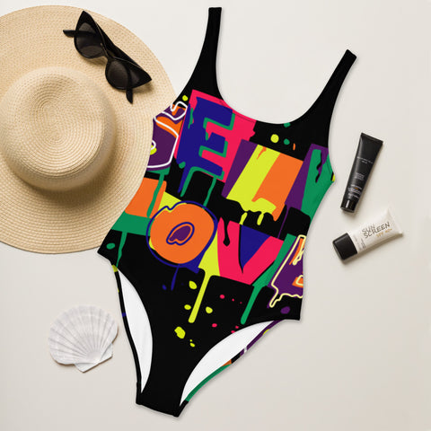 Self Love One-Piece Swimsuit