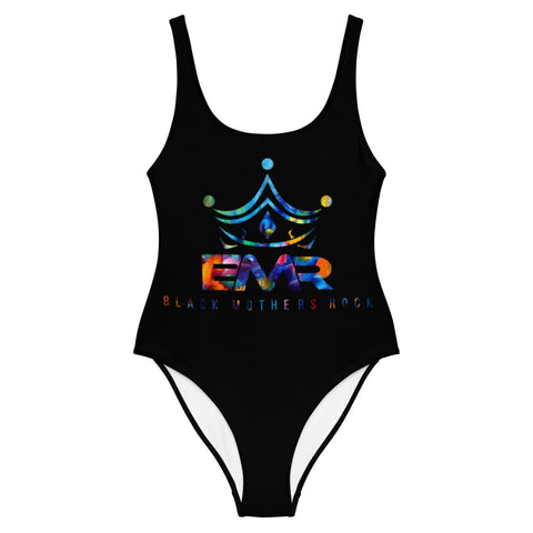Bold Multi Color BMR One-Piece Swimsuit