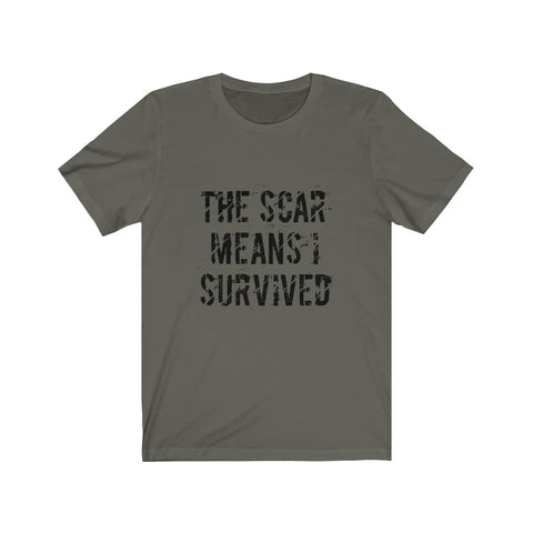 I Survived Unisex Jersey Short Sleeve Tee