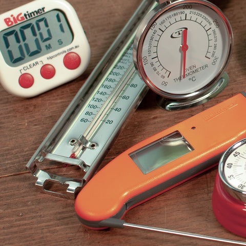 Timers  Thermometers  Scales