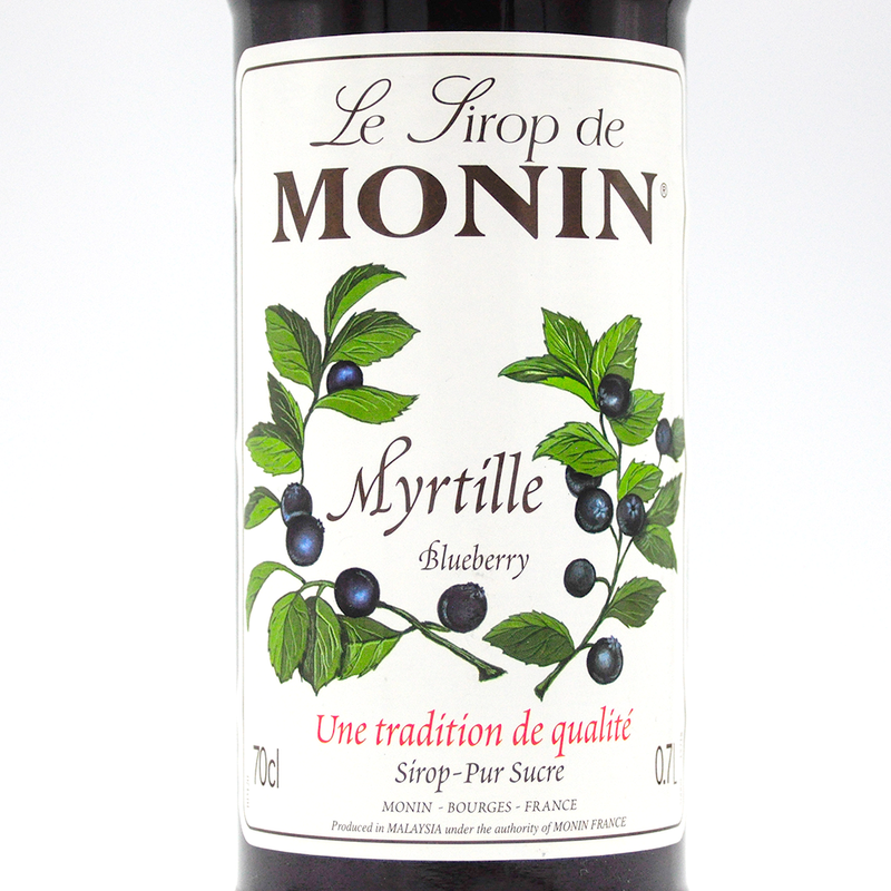 MONIN SYRUP   BLUEBERRY  700ML