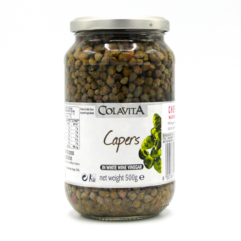 CAPERS TINY IN VINEGAR   500g