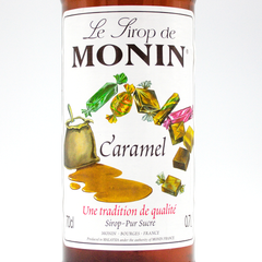 MONIN SYRUP  CARAMEL  700ML