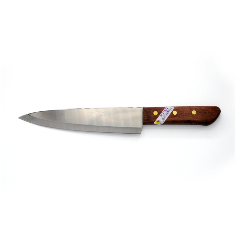 CHEFS KNIFE  WOOD HDL KIWI  200MM BLADE