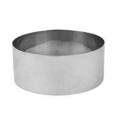 CAKE RING STAINLESS  6CM HIGH