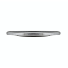 CAKE STAND  STAINLESS  300MM  30MM HIGH