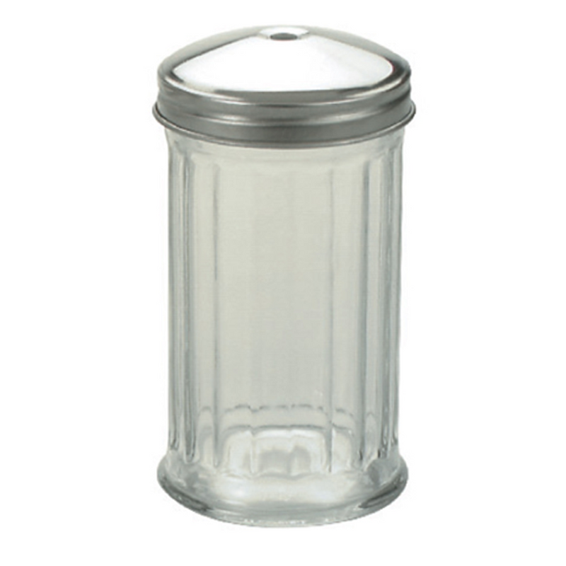 SUGAR DISPENSER  GLASS * CENTRE POUR *