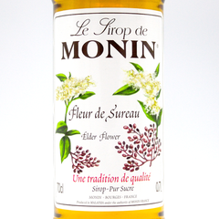 MONIN SYRUP    ELDERFLOWER   700ML