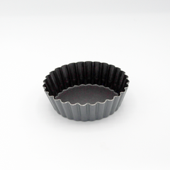TARTLET  FLUTED NONSTICK 100MM DEEP 30MM
