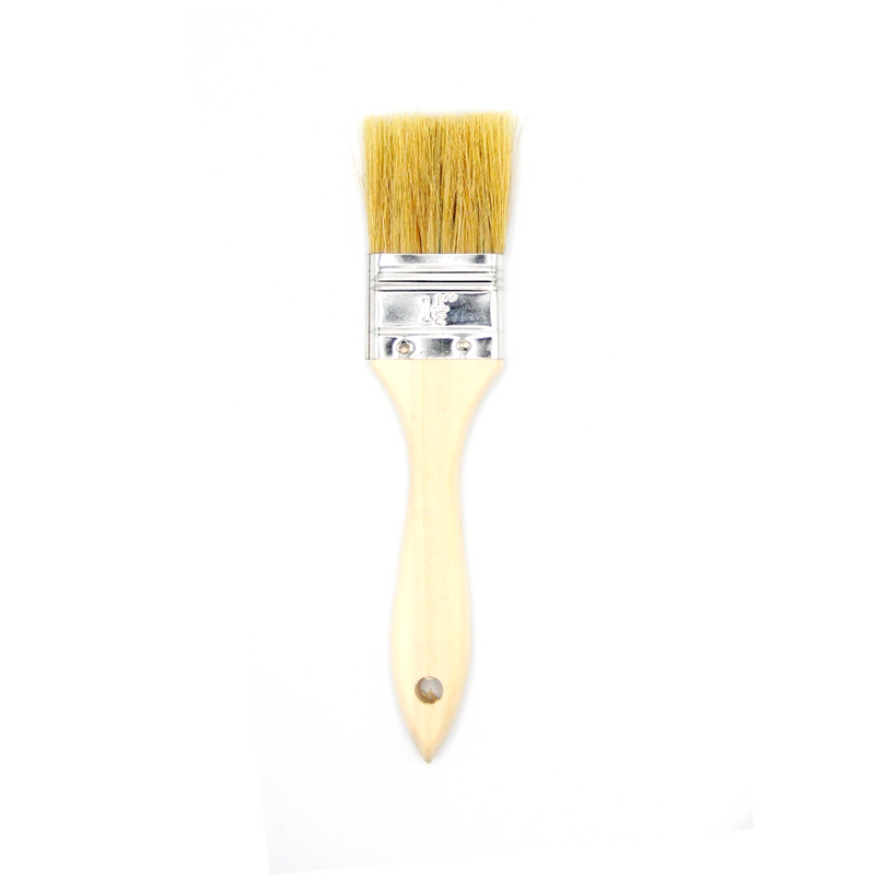 PASTRY BRUSH  NATURAL SHORT  40MM WIDE
