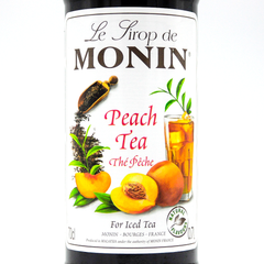 MONIN SYRUP  PEACH TEA  700ML