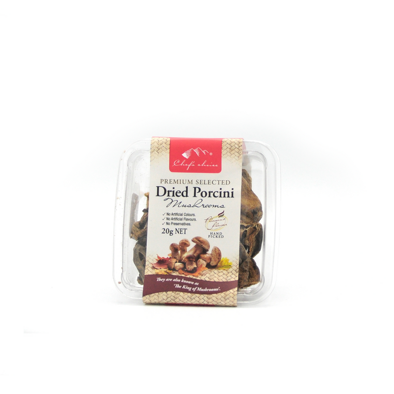 MUSHROOMS DRIED PORCINI  20G