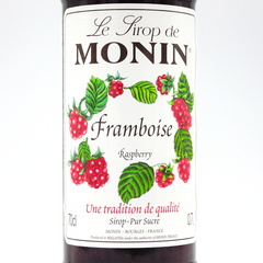 MONIN SYRUP    RASPBERRY 700ML