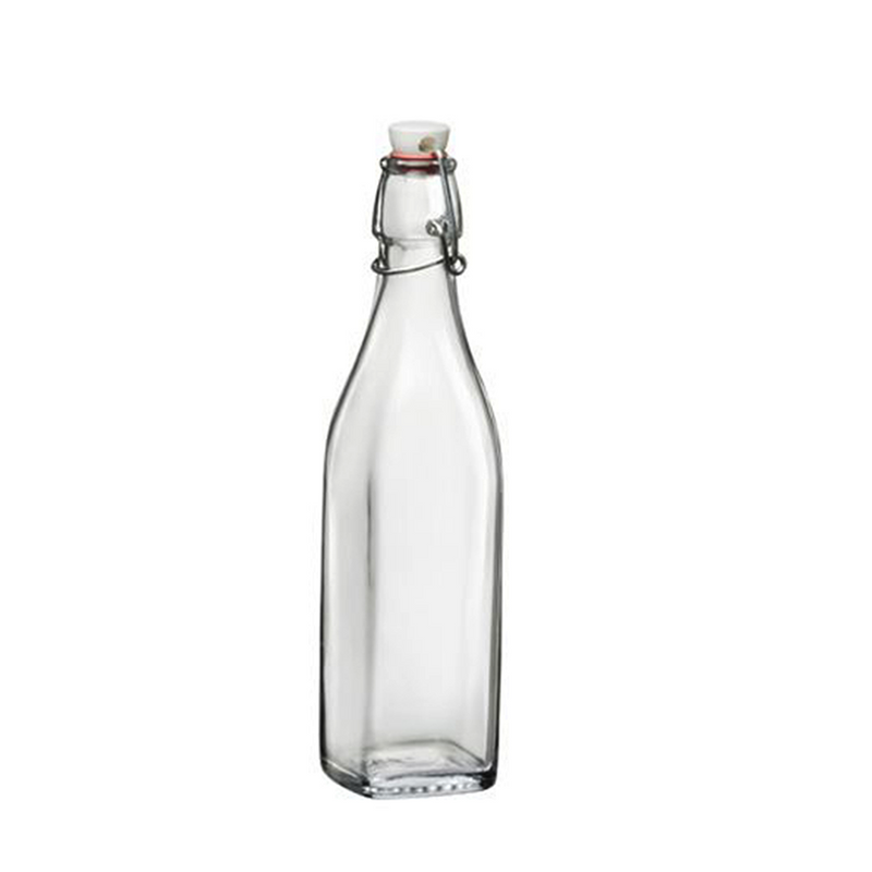 BOTTLE WATER CLIPTOP SQUARE *1 L