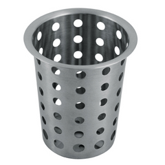 CUTLERY CYLINDER  STAINLESS   PERFORATED