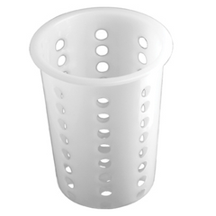 CUTLERY CYLINDER  PLASTIC  PERFORATED