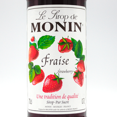 MONIN SYRUP  STRAWBERRY 700ML
