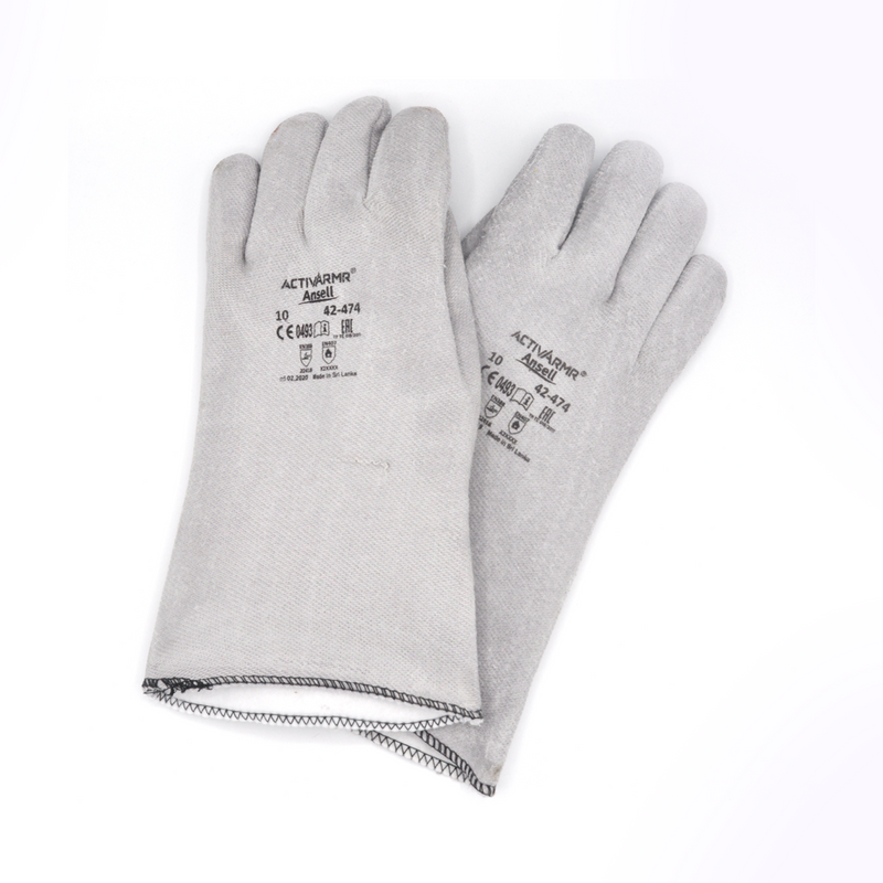 OVEN GLOVES  PAIR  CRUSADER  310MM